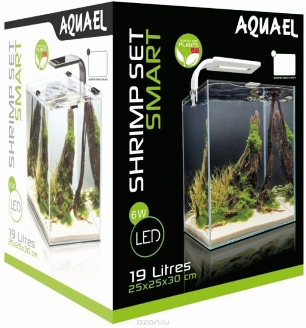 Аквариум Aquael Shrimp set, комплект 19л