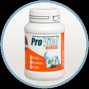 Корм для рыбок Provital Colorit