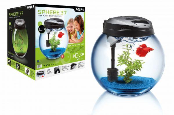 Аквариум круглый Aquael Sphere 37 см 25 литров