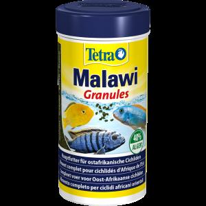 Tetra Malawi Granules - гранулированный корм для травоядных цихлид