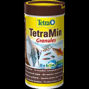 TetraMin Granules - универсальный корм для рыбок в виде гранул